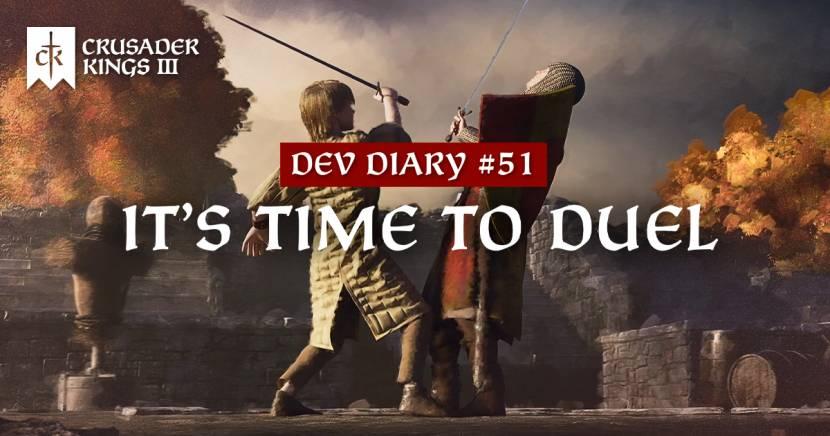 Binnenkort ook duels in Crusader Kings 3