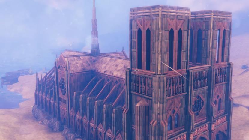 Indrukwekkend: Notre-Dame nagemaakt in Valheim