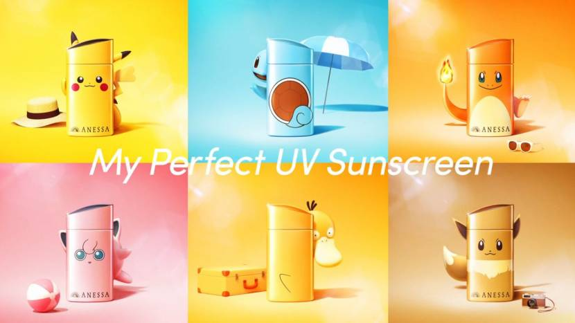 Pokémon zonnecrème beschermt je tijdens zonnige avonturen
