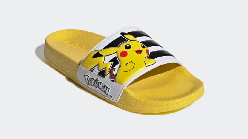 Adidas lanceert Pikachu slippers