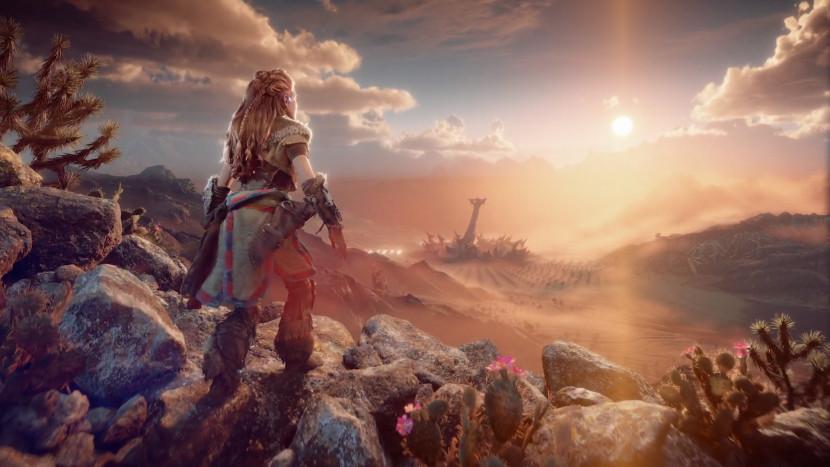 Aloy naar PS5 in Horizon: Forbidden West