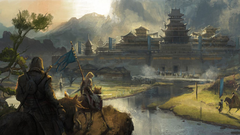 Artwork toont Assassin's Creed in China