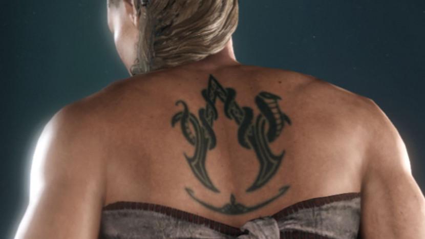 Assassin's Creed Valhalla bevat tatoeage van Assassin's Creed Sisterhood