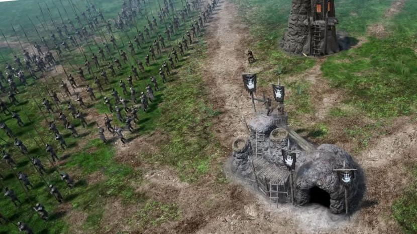Battle for Middle-Earth remake ziet er geweldig uit