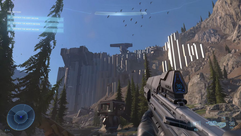 Bekijk hier 8 minuten gameplay van Halo Infinite