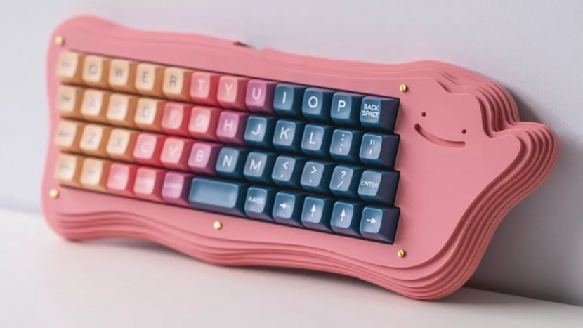 Belg maakt schattig Ditto keyboard