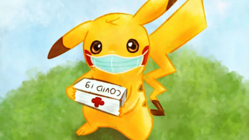 Belgische producent van Pokémon kaarten maakt mondmaskers