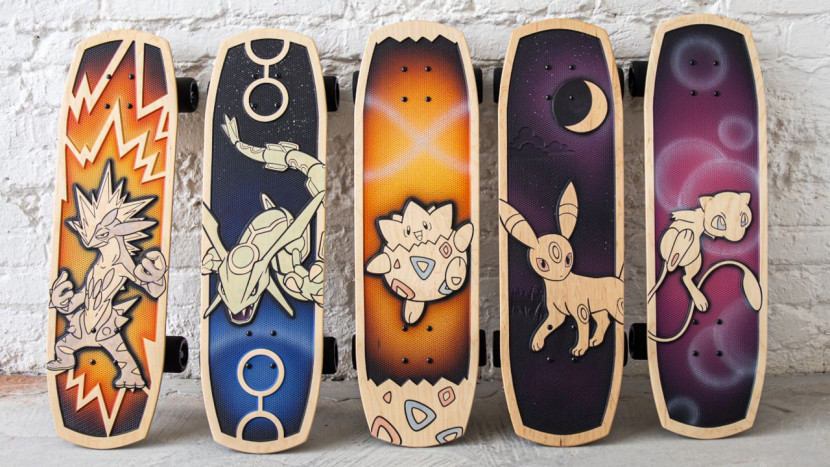 Binnenkort te koop: nieuwe Pokémon skateboards