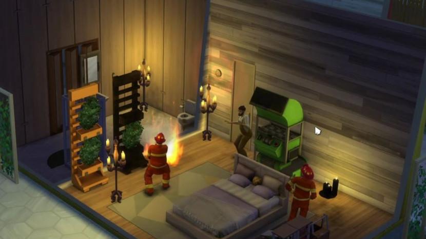 Brandweermannen komen voortaan blussen in The Sims 4