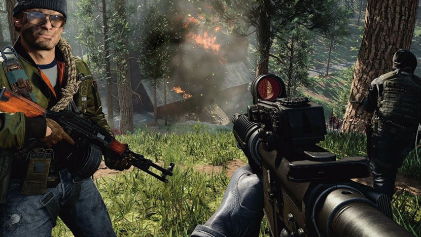 Call of Duty: Black Ops Cold War toont Fireteam: Dirty Bomb mode in actie