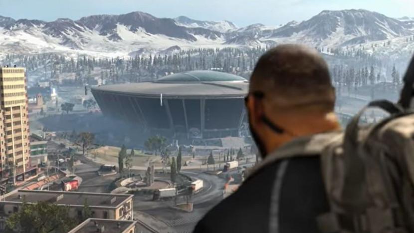 Call of Duty: Warzone blaast dak van stadion en voegt trein toe