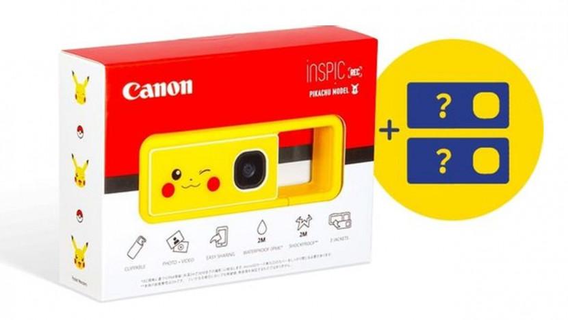 Canon lanceert Pikachu fototoestel