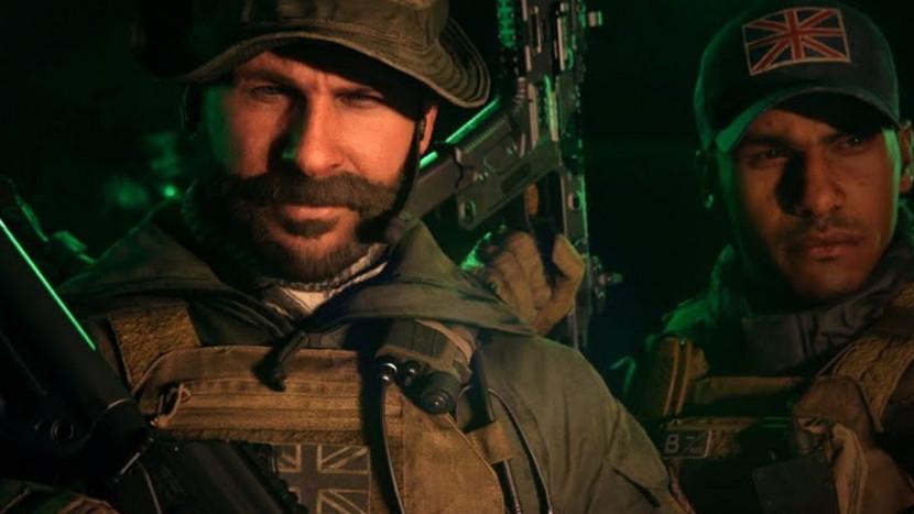 Captain Price op weg naar Call of Duty: Modern Warfare