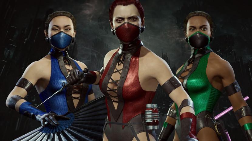 Classic Femme Fatale skins voor Mortal Kombat 11