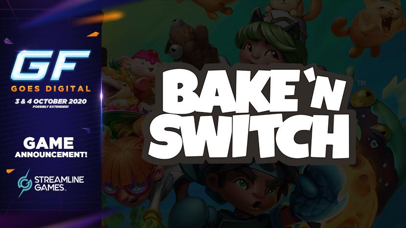 Co-op fun in Bake 'n Switch tijdens GameForce Goes Digital