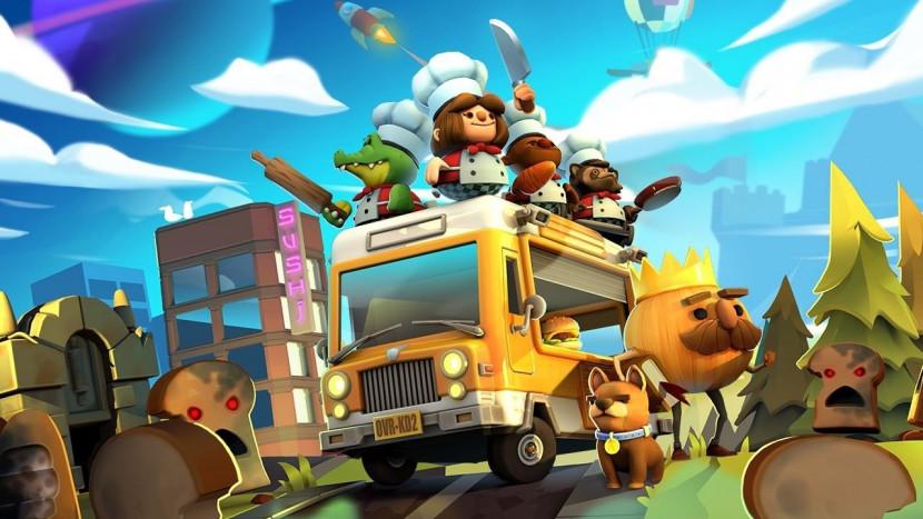 Co-op kookspelletje Overcooked gratis via Epic Games Store
