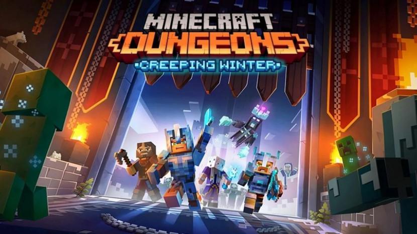 Creeping Winter DLC voor Minecraft Dungeons verschijnt in september