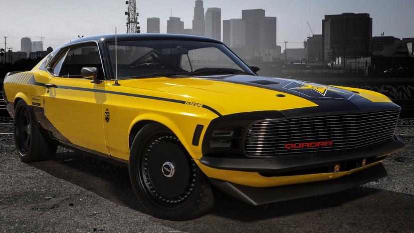 Cyberpunk 2077 en Rockstar geven een custom Mustang auto weg