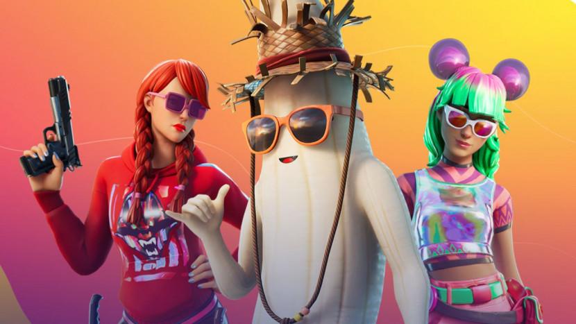 De banaan van Fortnite is klaar voor de zomer: Peely wordt Unpeely