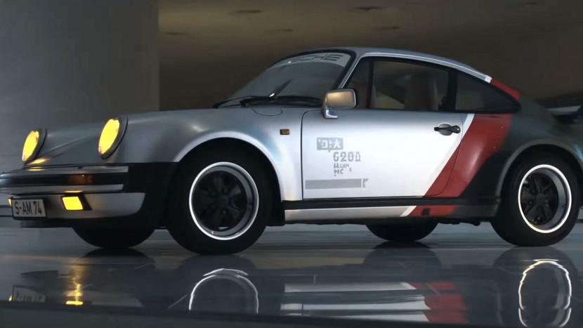 De Cyberpunk 2077 Porsche van Johnny Silverhand bestaat echt
