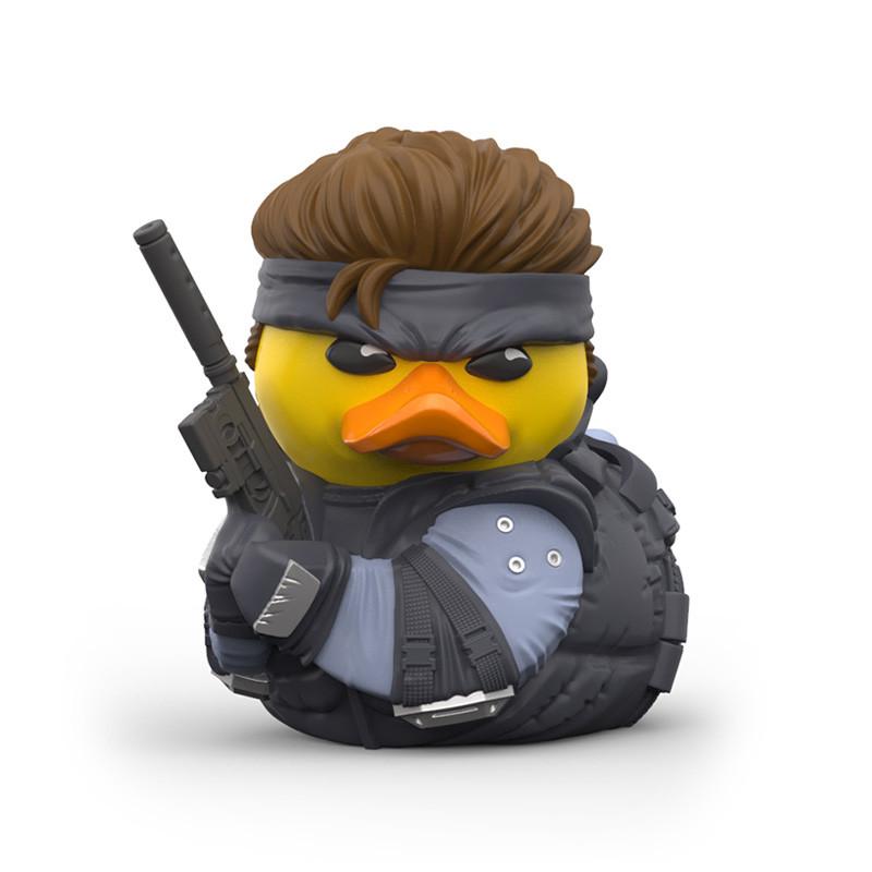 Deze badeendjes cosplayen als personages uit Metal Gear Solid