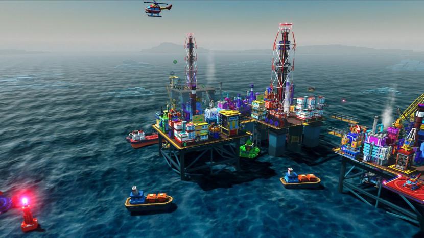 Deze Oil Platform Simulator is gratis te downloaden