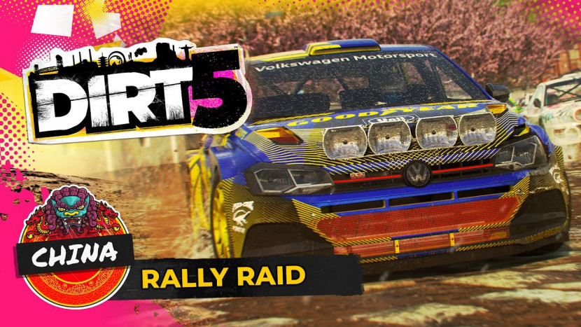 DiRT toont racen in Chinese jungle