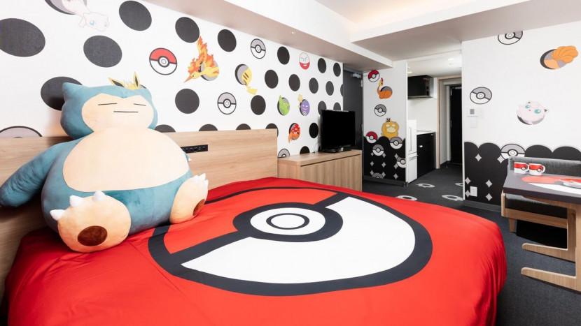 Dit hotel heeft Pokémon kamers voor 225 euro per nacht