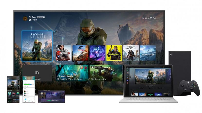Dit is het nieuwe dashboard voor Xbox Series X