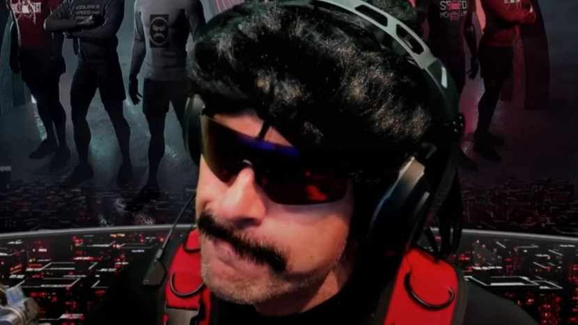 Dr Disrespect is boos op Twitch