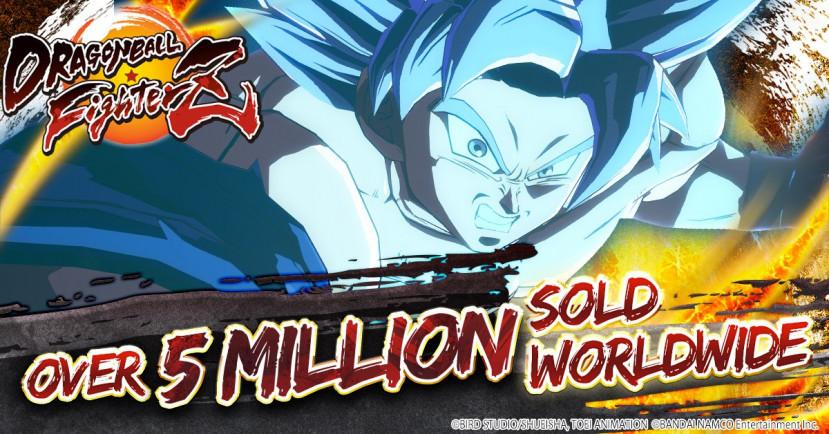 Dragon Ball FighterZ 5 mijloen keer verkocht