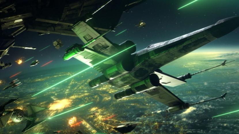 EA lost eerste trailer Star Wars Squadrons