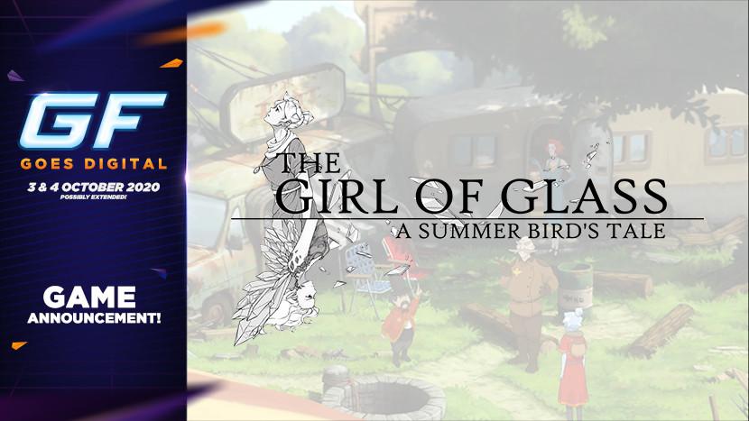 Een prachtig avontuur in The Girl of Glass: A Summer Bird's Tale