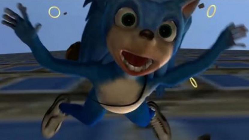 Een vroege versie van de Sonic film was voer voor nachtmerries