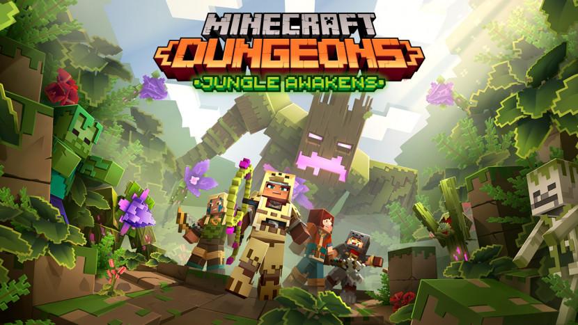 Eerste DLC Minecraft Dungeons in juli