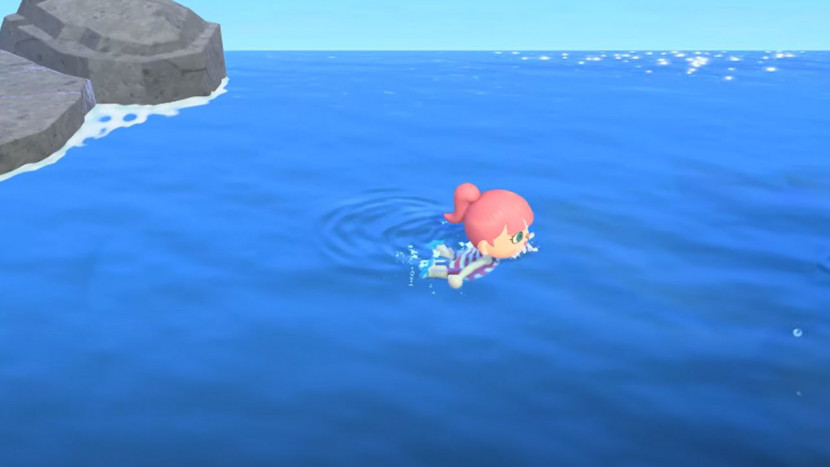 Eerste zomerupdate voor Animal Crossing: New Horizons laat je zwemmen in de oceaan