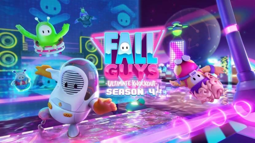 Fall Guys begint binnenkort aan futuristisch Season 4