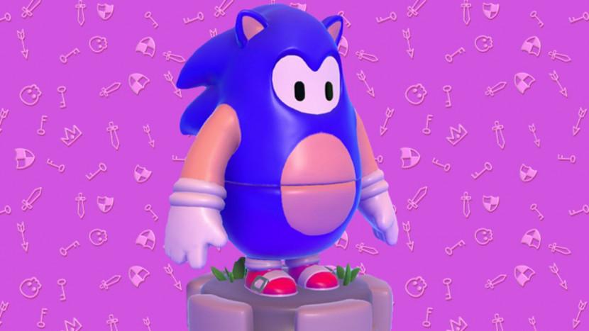 Fall Guys krijgt een officiële Sonic outfit