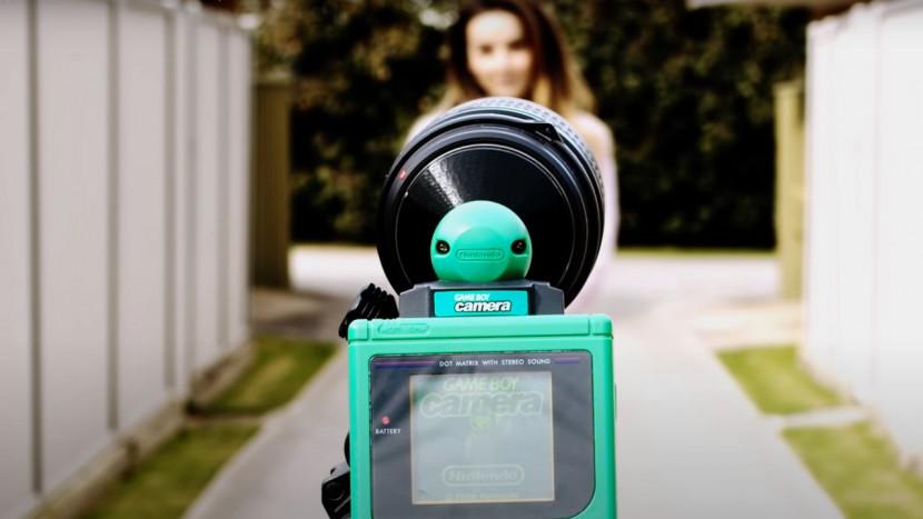 Game Boy Camera met DSLR-lens is een dingetje