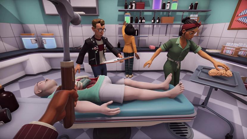 Geslaagde harttransplantatie in Surgeon Simulator 2