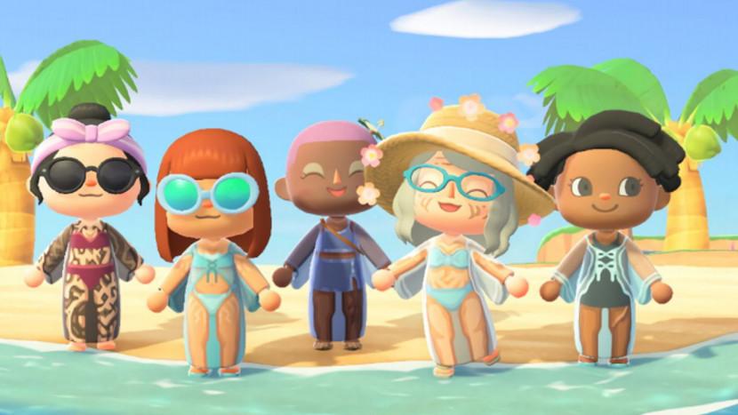 Gillette organiseert Skinclusive event in Animal Crossing: New Horizons