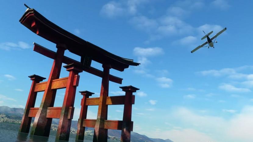 Gratis update dropt Japan in Microsoft Flight Simulator