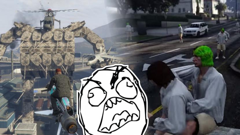 Hackers zijn weer alomtegenwoordig in GTA Online