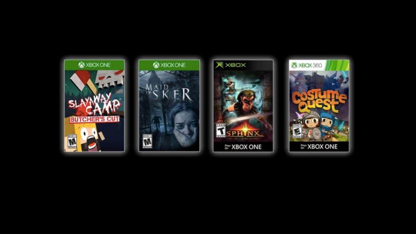 Horror staat centraal in Games with Gold voor oktober