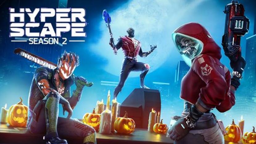 Hyper Scape begint aan duister Halloween event