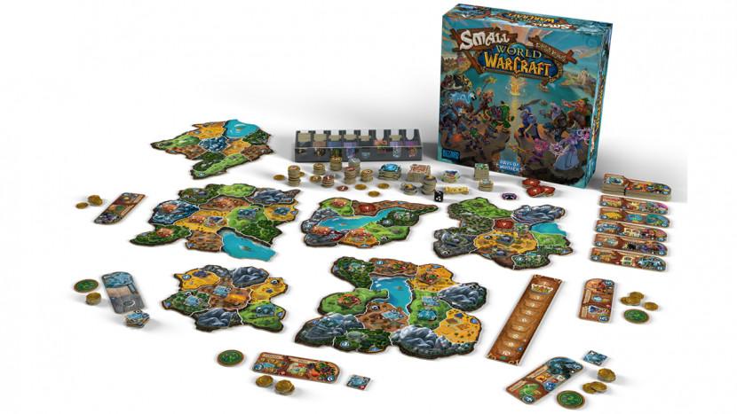 Ideaal in tijden van corona: het Small World of Warcraft bordspel