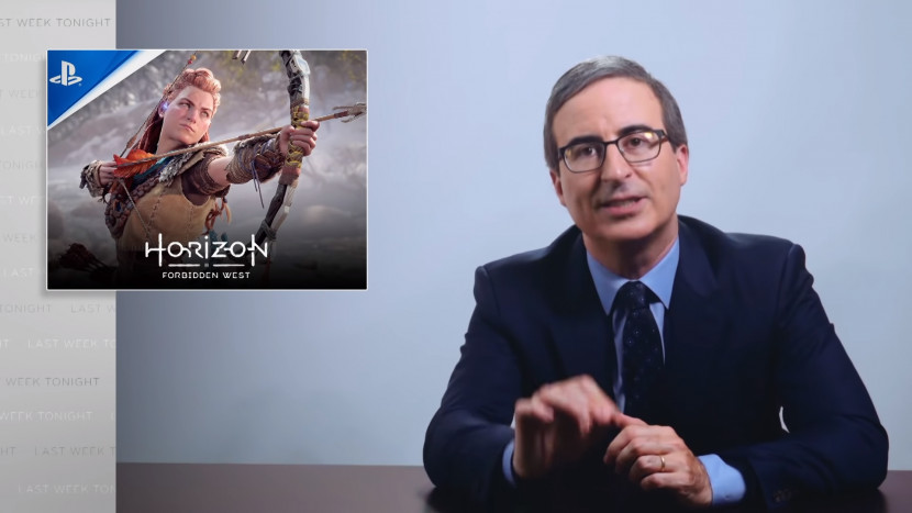 John Oliver is duidelijk fan van Horizon Forbidden West