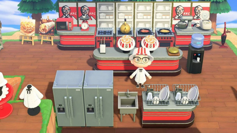 KFC opent restaurant in Animal Crossing: New Horizons