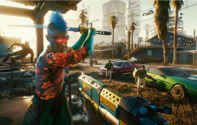 Kies je pad en je wapen in trailers Cyberpunk 2077