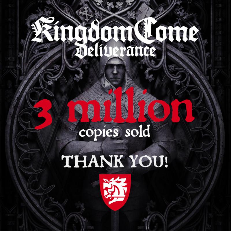 Kingdom Come: Deliverance viert mijlpaal met gratis weekend op Steam